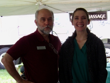 Charles & Jenny at EarthFest 2010